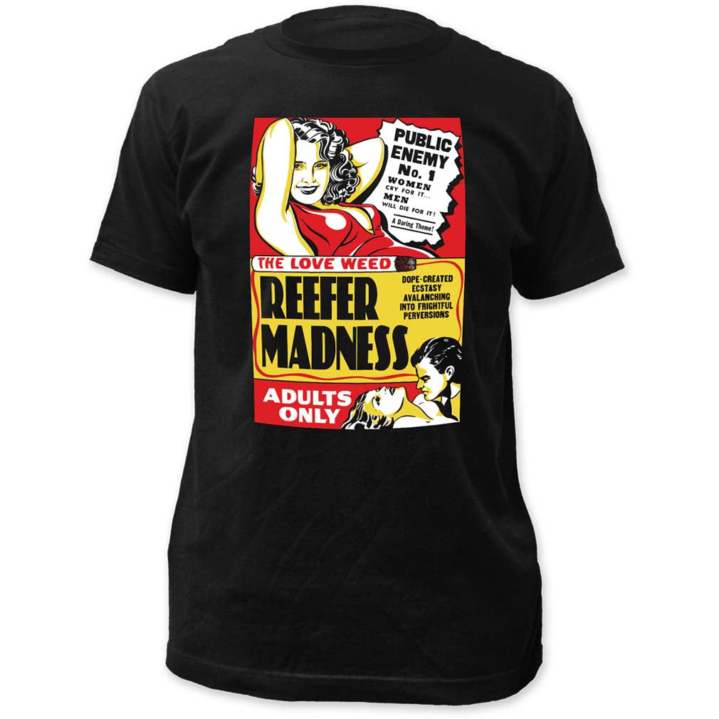 Impact Originals Reefer Madness Fitted T-Shirt Small - X-Large