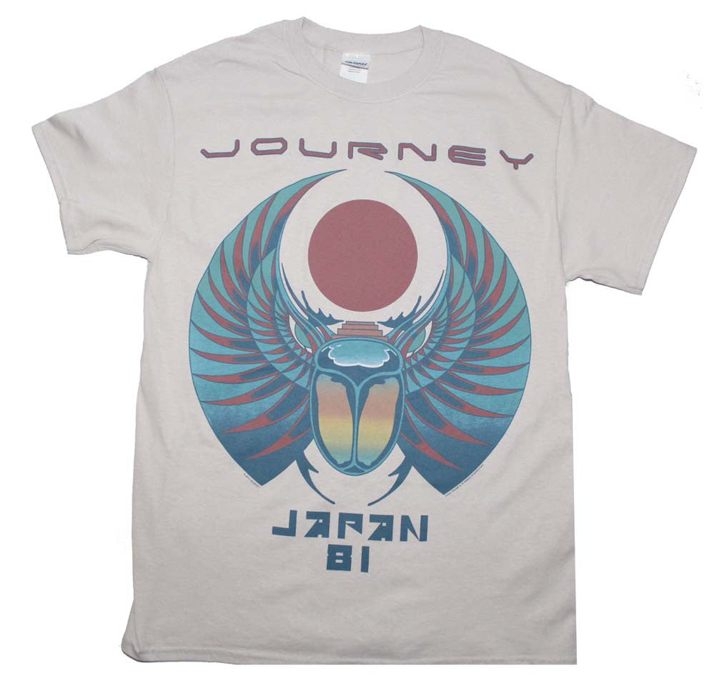 Journey Japan '81 T-Shirt Small - X-Large