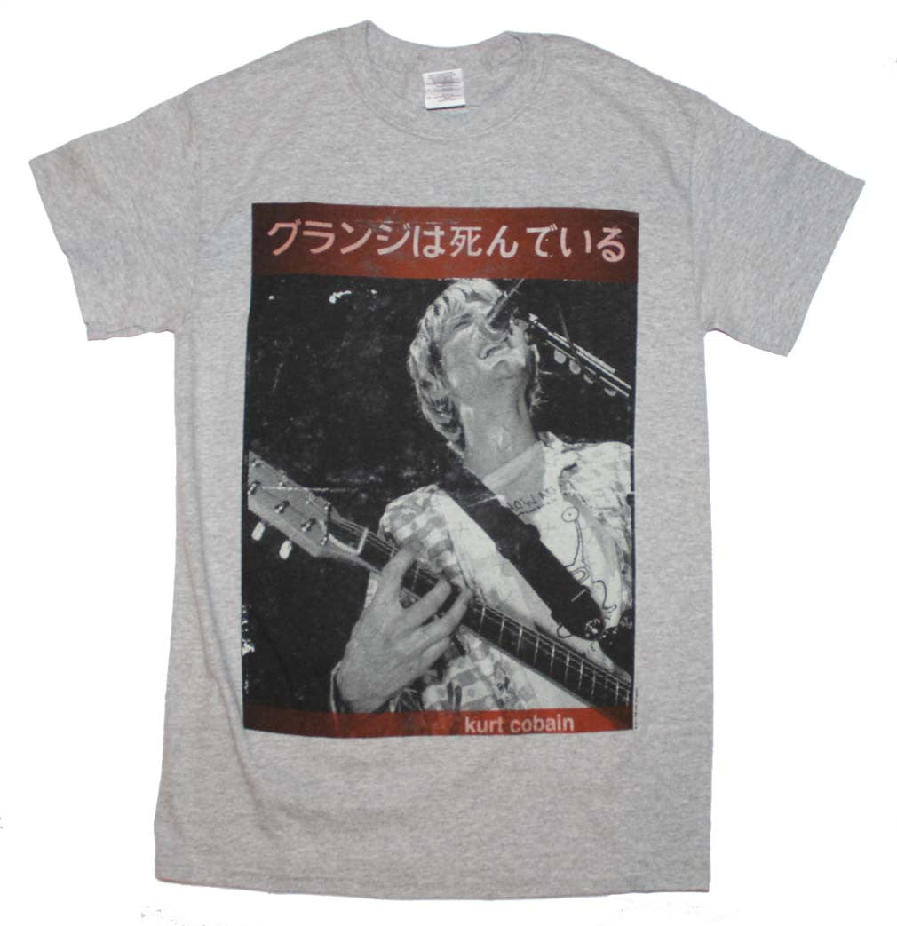 Kurt Cobain Guitar Kurt T-Shirt Small - X-Large