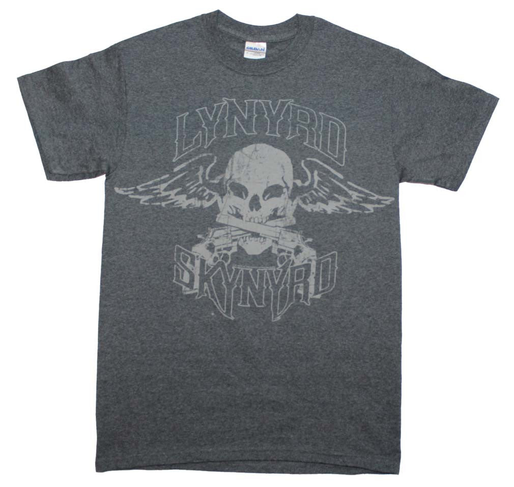 Lynyrd Skynyrd Biker Patch T-Shirt Small - X-Large