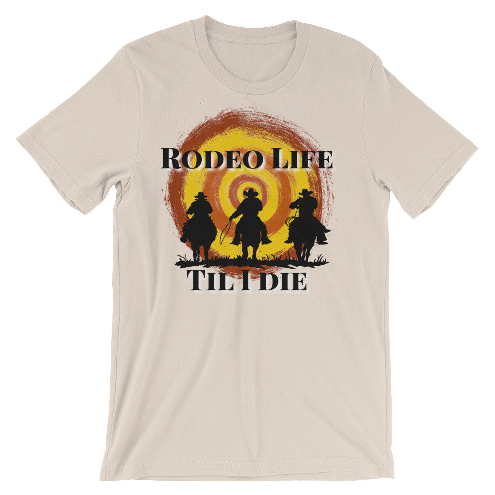 Rodeo Life Unisex short sleeve t-shirt