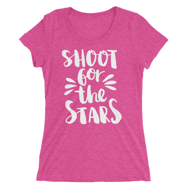 Shoot for the stars sassy Ladies' short sleeve t-shirt