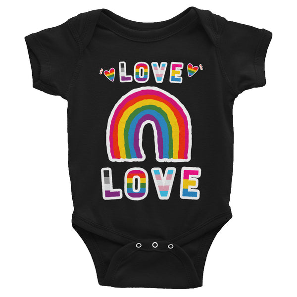 Sweet Love Rainbow Pride Infant Bodysuit