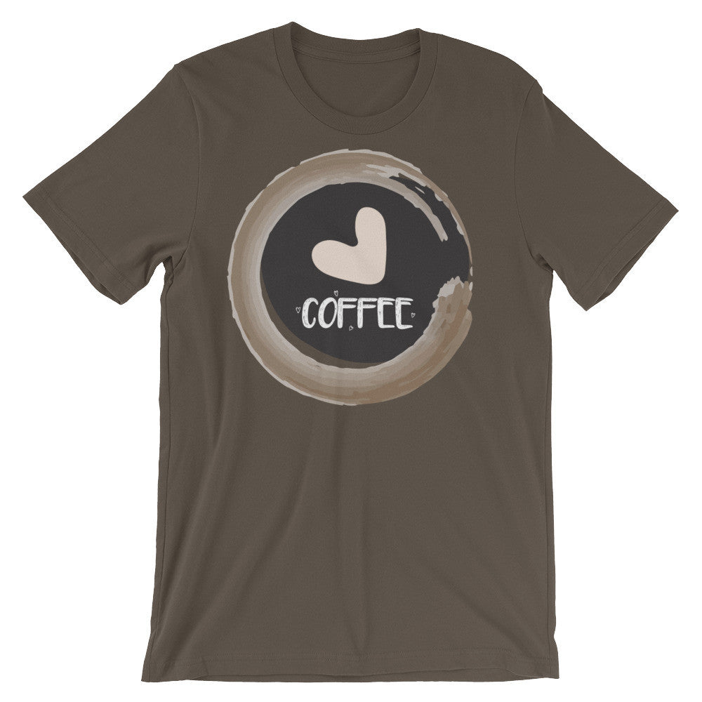 Coffee lovers Unisex short sleeve t-shirt