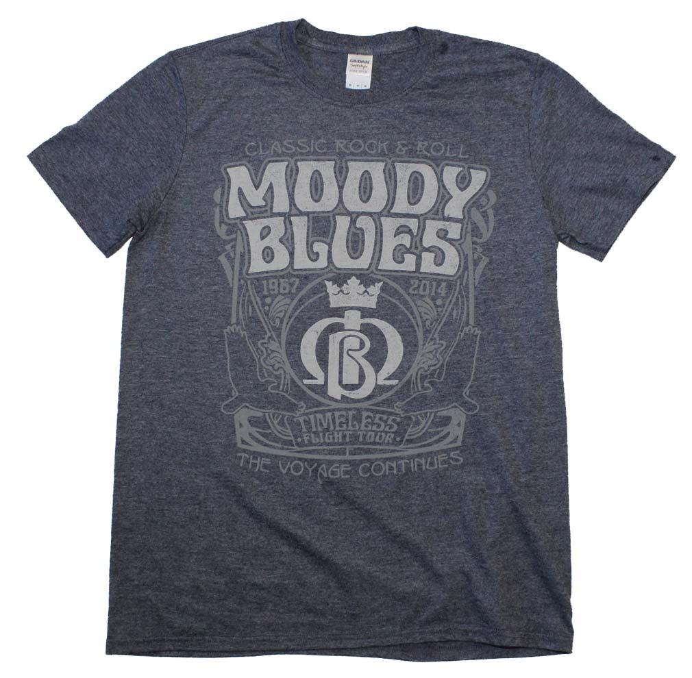 Moody Blues Fillmoore T-Shirt Small - X-Large
