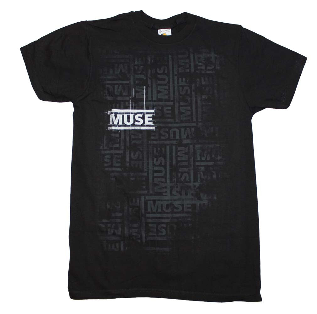 Muse Repeat T-Shirt Small - X-Large