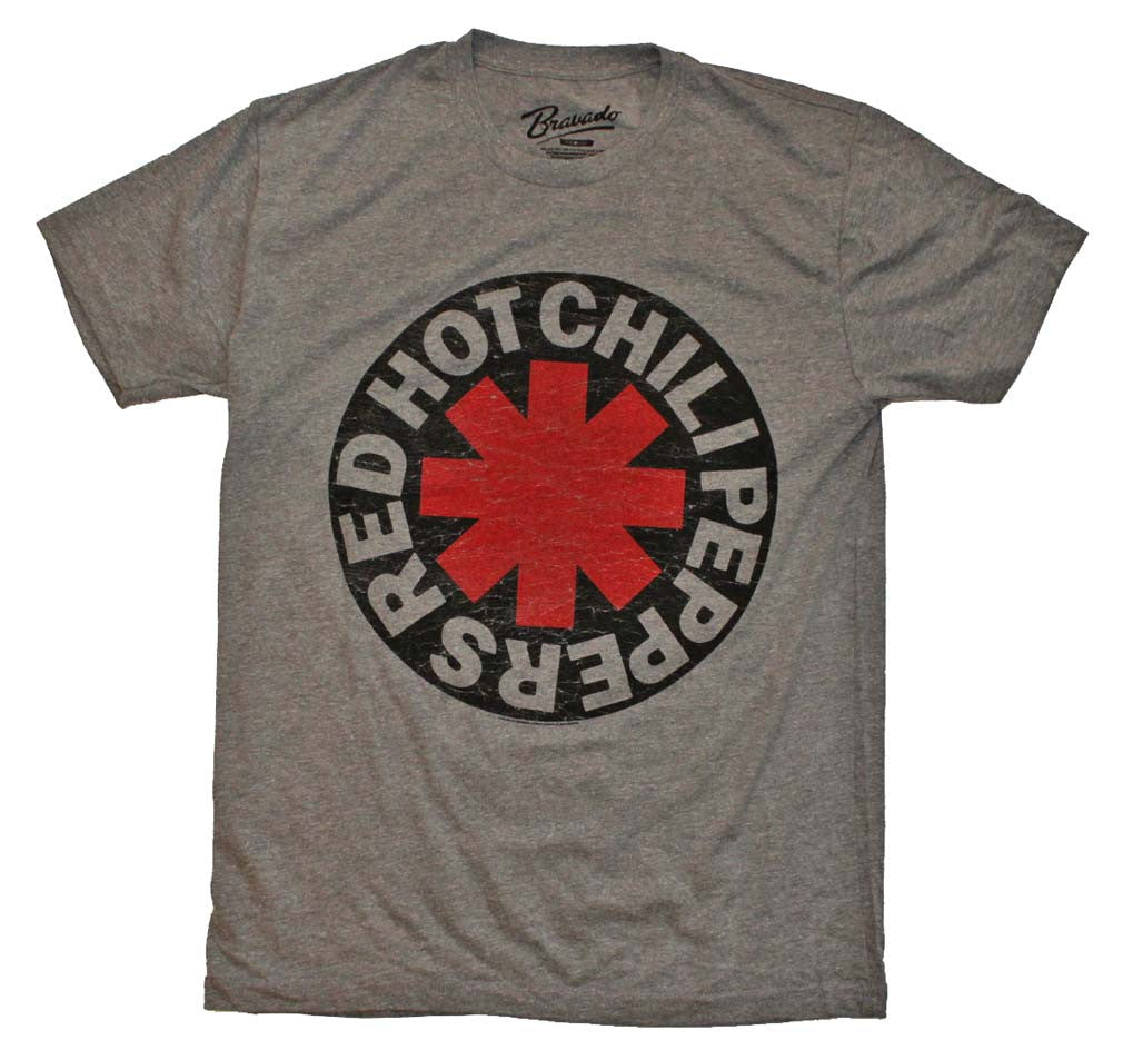 Red Hot Chili Peppers Asterisk Circle T-Shirt Small - X-Large