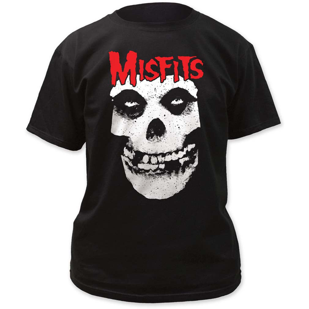 Red Skull Logo Misfits T-Shirt Small - X-Large