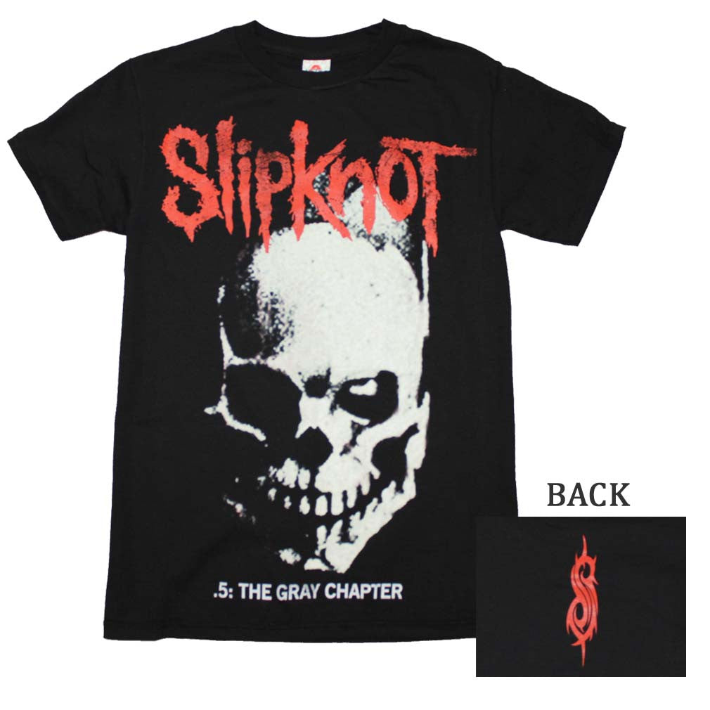 Slipknot Skull and Tribal T-Shirt Small - X-Large