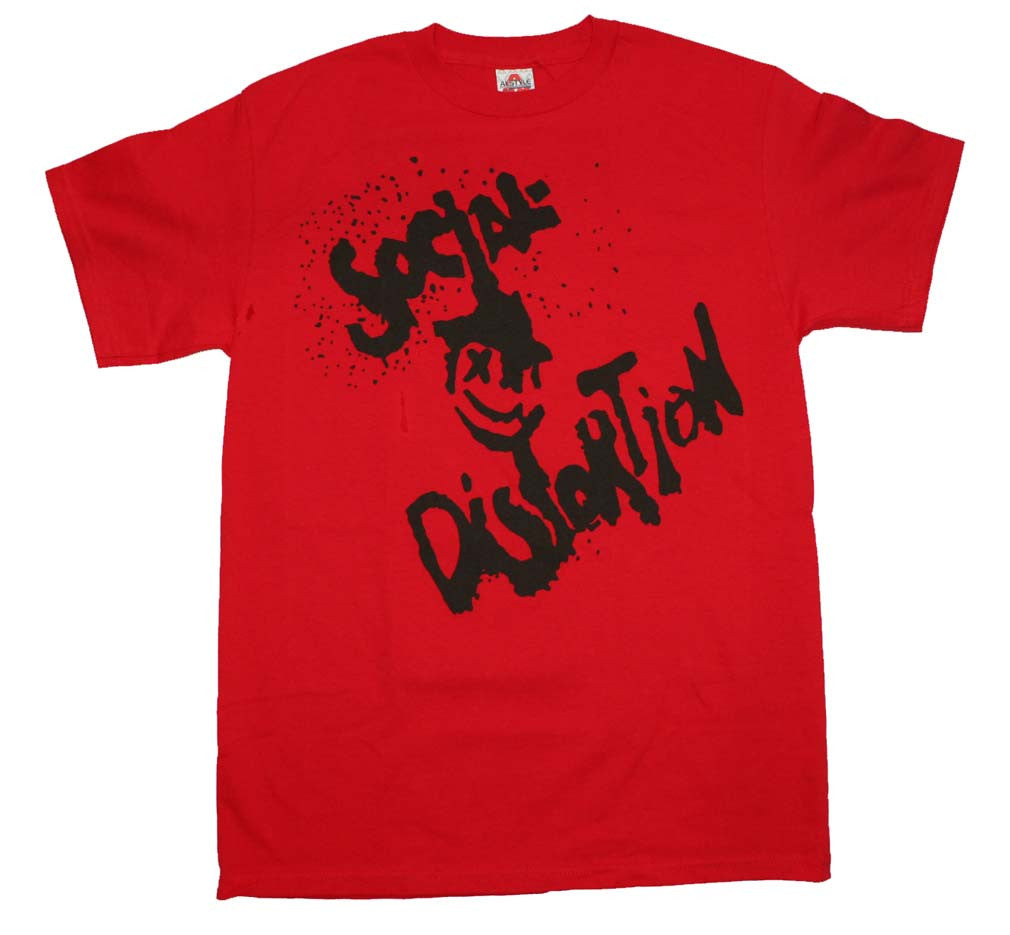 Social Distortion Happy Face T-Shirt Small - X-Large