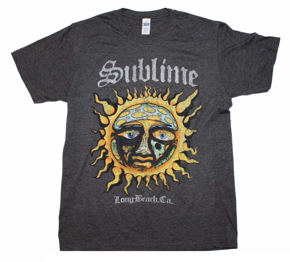 Sublime Logo Stamp Sun Soft T-Shirt Small - X-Large