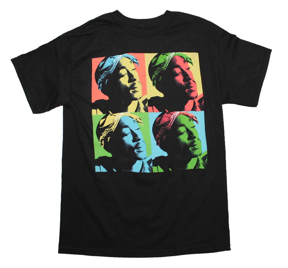 Tupac Pop Art T-Shirt Small-X-Large