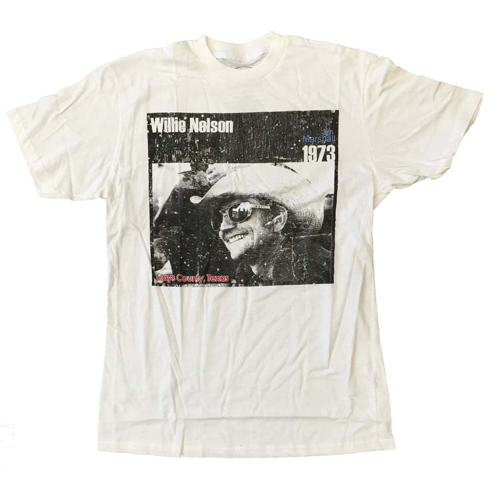 Willie Nelson Cowboy T-Shirt Small-X-Large