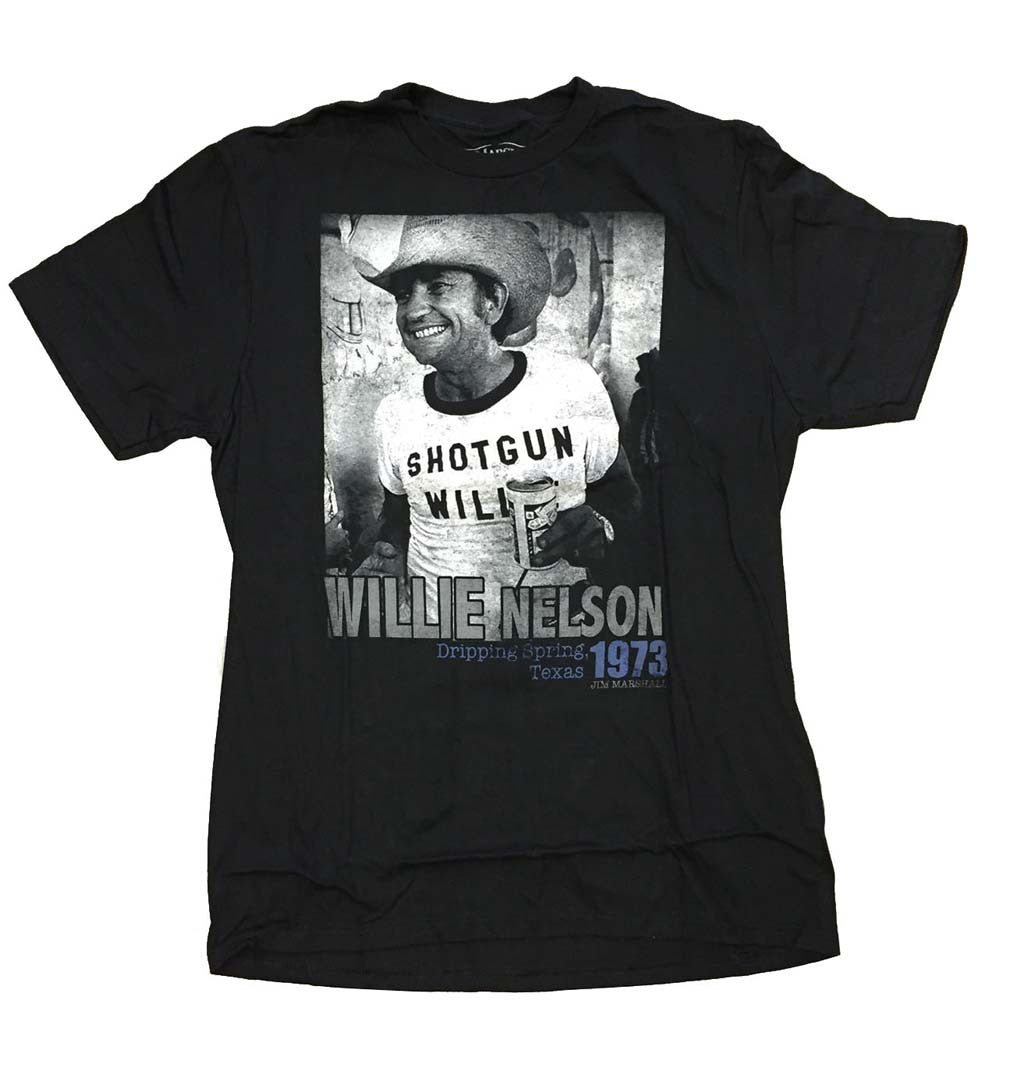 Willie Nelson Texas 1973 T-Shirt Small-X-Large