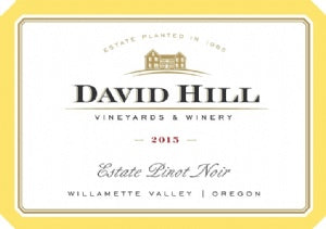 David Hill - Estate Pinot Noir 2017