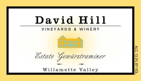 David Hill - Gewurztraminer 2017