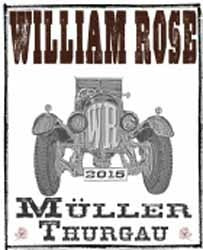 William  Rose - Muller Thurgau 2016