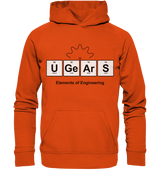 UGears Elements (White and colours) - Basic Unisex Hoodie