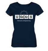 UGears Elements (Dark colours) - Ladies Organic Shirt