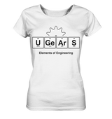 UGears Elements (White and colours) - Ladies Organic Shirt
