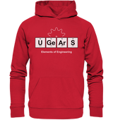 UGears Elements (Dark colours) - Organic Hoodie
