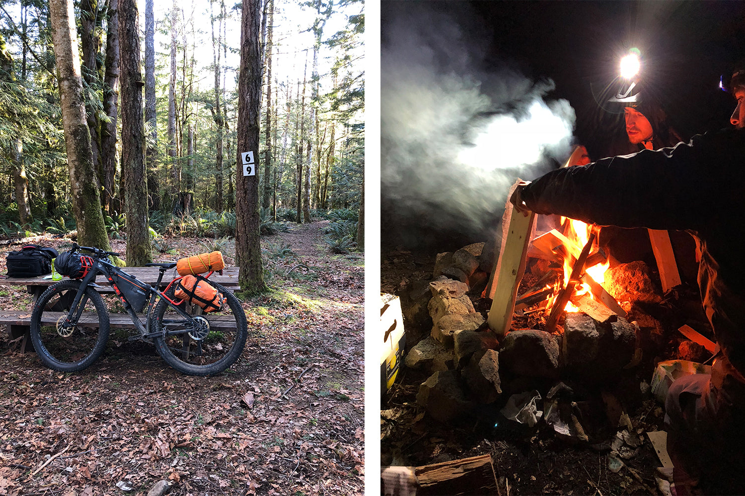 Bikepacking the Sunshine Coast