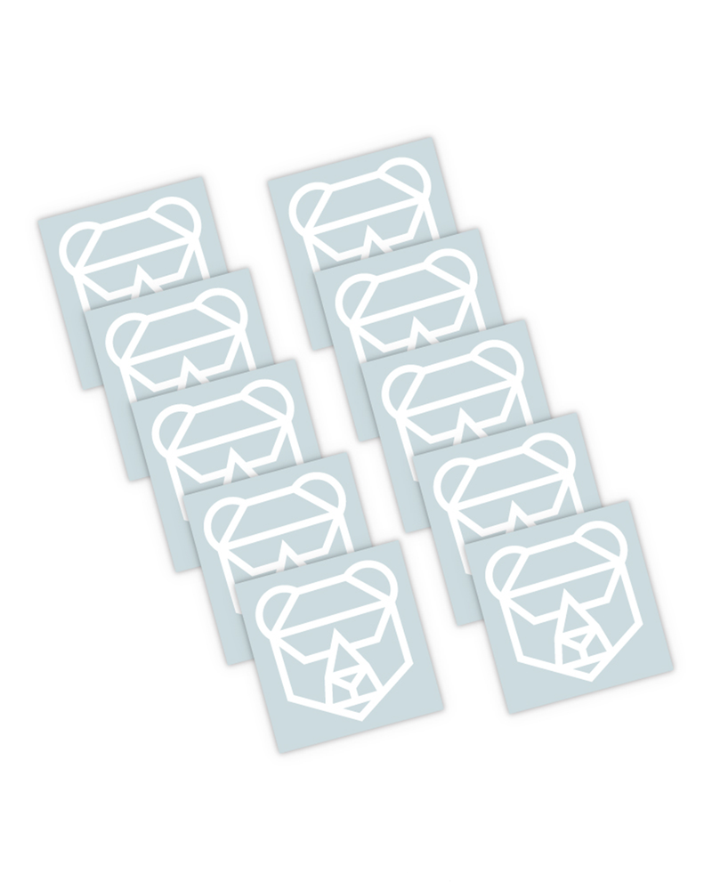 Bear Stickers - 10 Pack