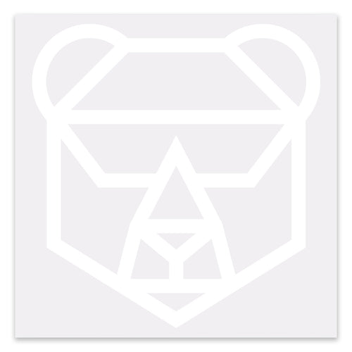 IFHT Bear Car Decal