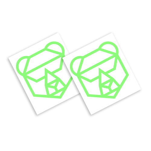 IFHT Bear Stickers (Glow in the Dark) (Very Limited Quantity)