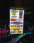 Fast Pack Sticker Sheet