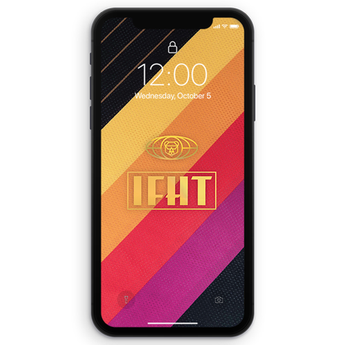 IFHT VHS Tape iPhone Wallpaper (DIGITAL DOWNLOAD)