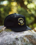 Mahalo My Dude Snapback Hat - Black