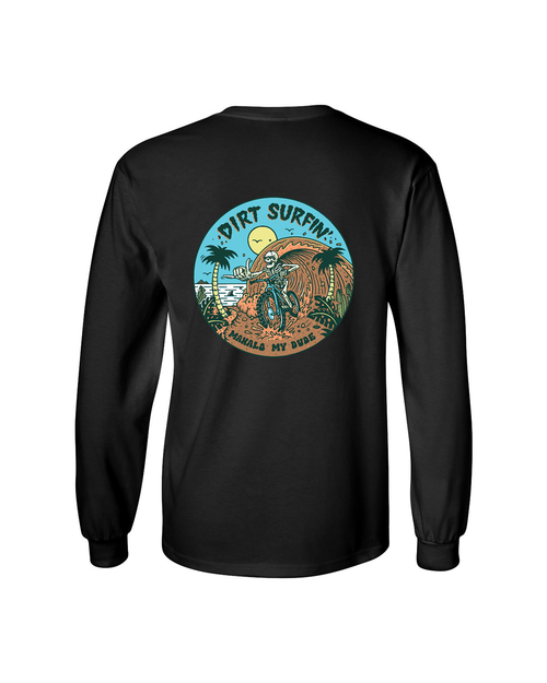 Dirt Surfin' Long Sleeve - Black