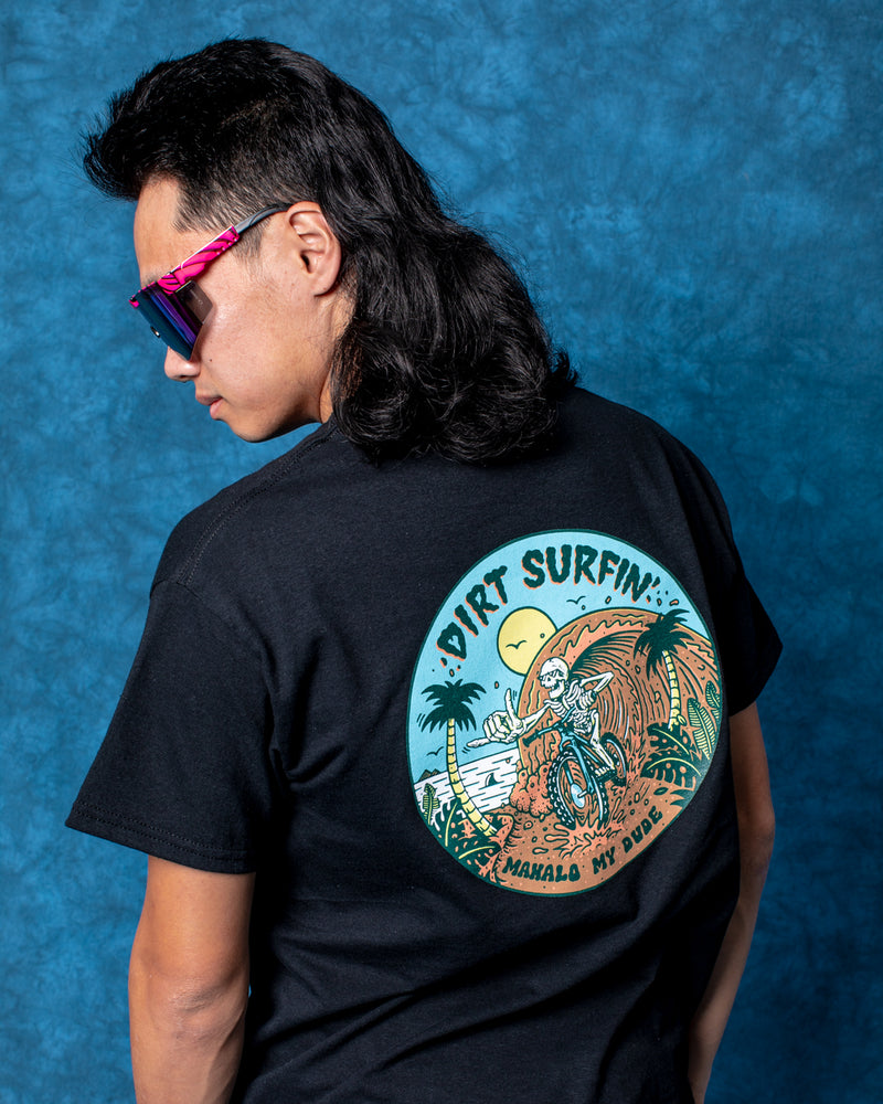 Dirt Surfin' T-Shirt - Black