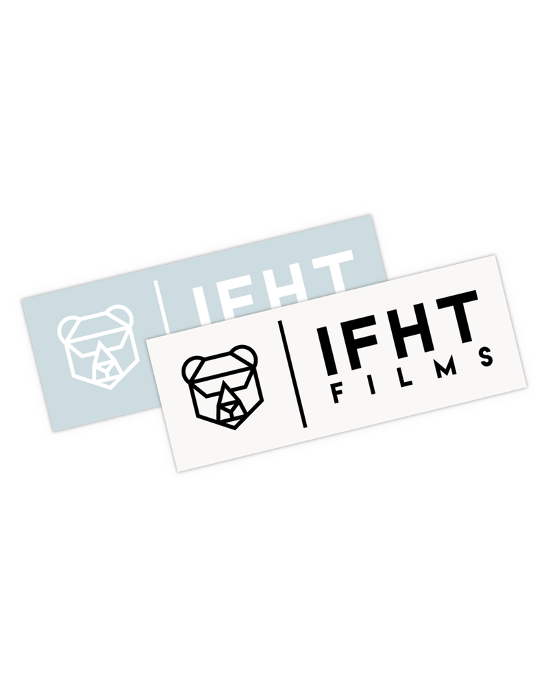 IFHT Films Sticker - 2 Pack