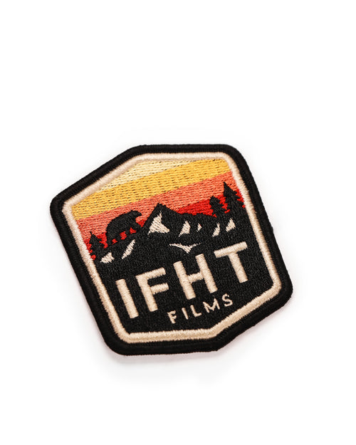 IFHT Films Embroidered Iron-on Patch