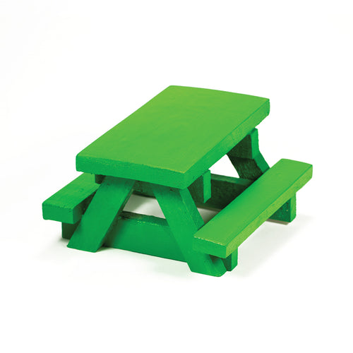 Squirrel Space Picnic Table - Green