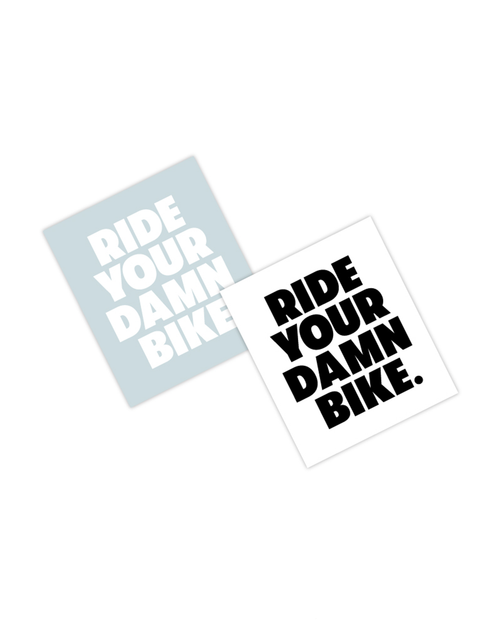 Ride Your Damn Bike Sticker Pack