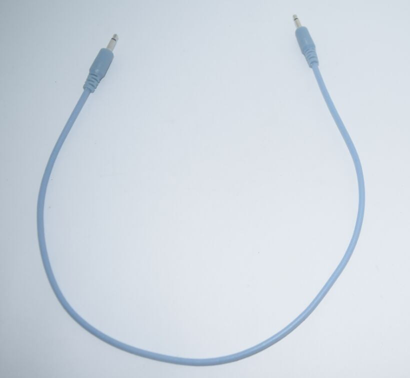 Eurorack Patch Cable Blue