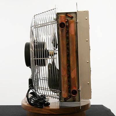 Hydronic Unit Heater for Outdoor Wood Boiler - Any Hot Water Source 3 Sp Fan 90k BTU