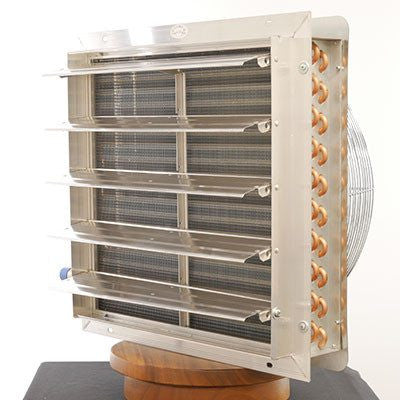 Hydronic Unit Heater For Outdoor Wood Boiler 3 Sp Fan