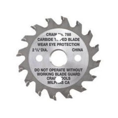 "2-3/4"" Toe-Kick Saw Blade - Crain No. 788"
