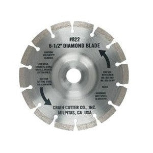 Segmented Diamond Uncercut Blade - Crain No. 822
