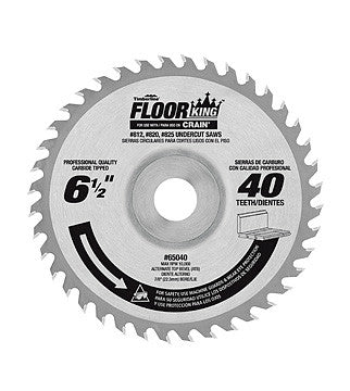 Comparable 821 Jamb Saw Blade for Crain Undercut Saws 812/820/825 - Pack of 3 Blades