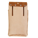 Split Leather Lined Single Pocket Tool Pouch