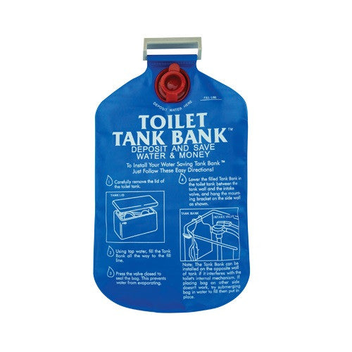 Toilet Tank Bank™ Water Conserving Tank Insert