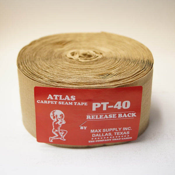 "4"" Carpet Seam Tape - 9 Bead Release Back - Roll"