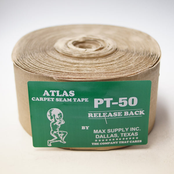 "4"" Carpet Seam Tape - 11 Bead Release Back - Roll"