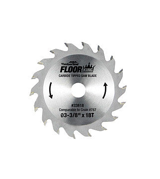 Toe Kick Saw Blade - 18 Tooth Carbide Tipped for Crain 785 & 795