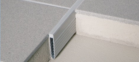 Blanke PVC V-Screed Expansion Joint - Multiple Sizes